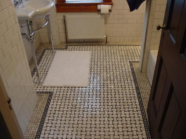 50 Best 1900S Tile Images On Pinterest  Bathroom Mosaic And Delectable Tile Designs For Bathroom Floors Inspiration
