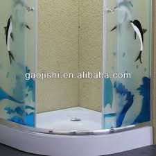 Resultado de imagen para cabinas de baño con diseño esmerilado
