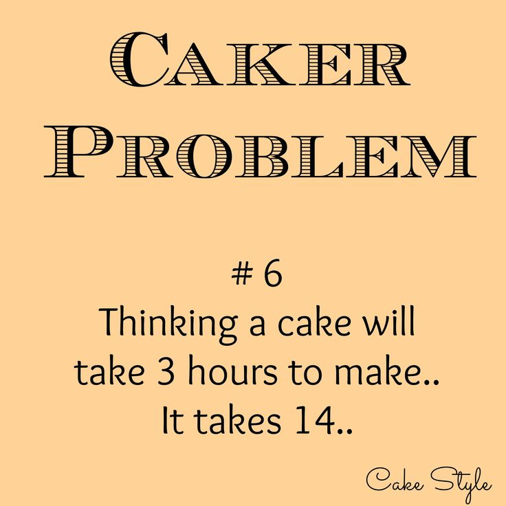 Ocd Cake Sarcasm