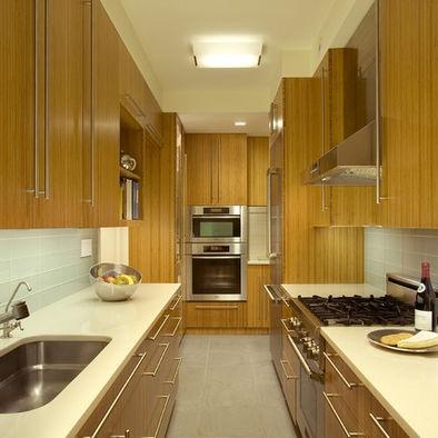 17 best images about kitchen green tile backsplash light for Galley kitchen backsplash ideas