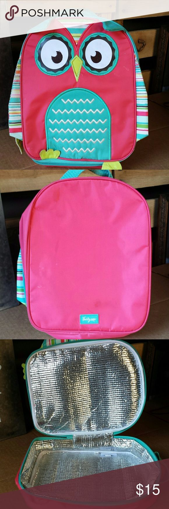 Thirty One Owl Kids Thermal Great condition.  Only used once. It does have a tiny ink mark above the Thirty one logo but possibly could be removed. Thirty one Accessories Bags