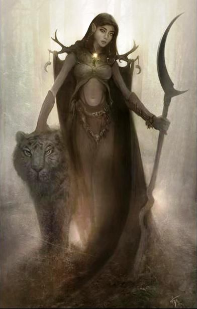 dungeons and dragons female druid - Google Search