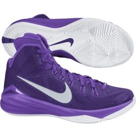 Nike Women S Hyperdunk 2014 Basketball Shoe Purple Dick S