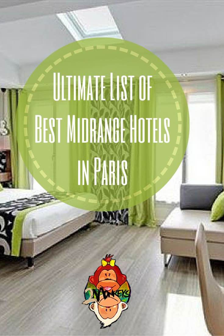 Searching for the perfect hotel can be a bit overwhelming, especially when there are so many to choose from. Below is the ultimate list of THE BEST MID-RANGE HOTELS IN PARIS, including prices, reviews, and locations, all in one place!