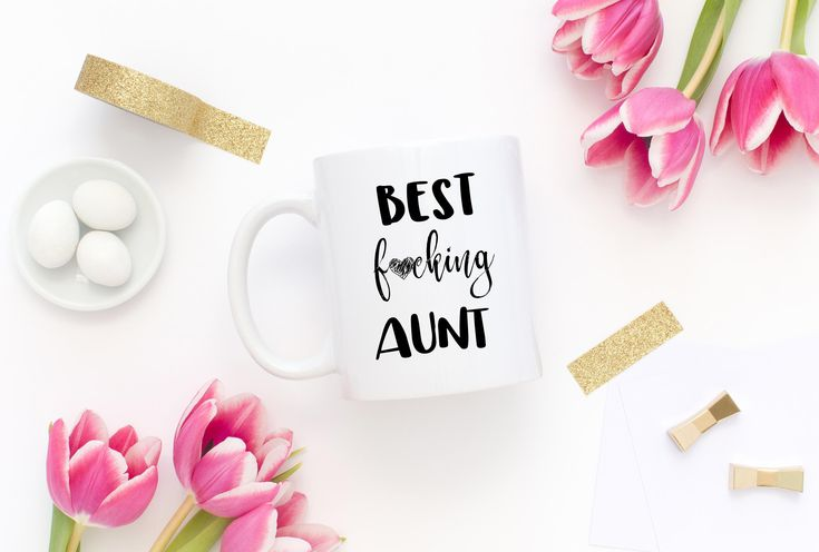 Best Fucking Aunt Mug,Best Aunt Mug, Funny Aunt Gift, Aunt Birthday Gift, Sister To Aunt Mug,Aunt To Be Gift,Promoted To Aunt,Gift For Aunt, by mhuglife on Etsy