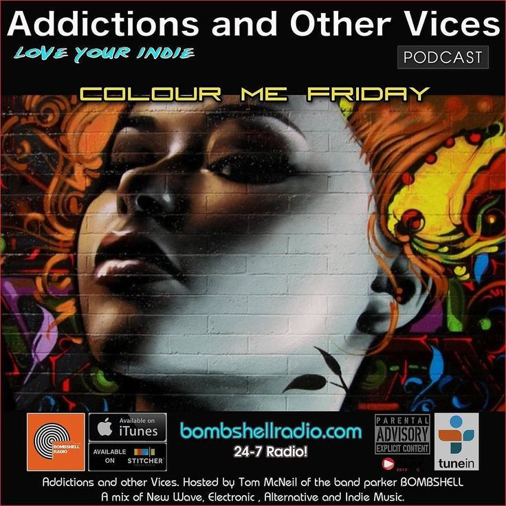 Tonight 8pm-10pm EST bombshellradiocom  New Indie finds previews of The Menace's Attic/Just Another Menace Sunday Replay artists coming up this weekend into next week ala Dennis The Menace discoveries from our social media followers and a few more surprises. Thanks to all the artists labels and PR companies that submitted tracks this week. This is Addictions and Other Vices 419 - Colour Me Friday  I hope you enjoy!  Repeats Saturday 8pm -10pm 3pm-4pm EST And Sunday 12am-1am 8am-9am and…