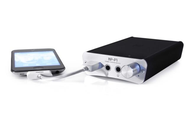 Fostex HP-P1 - Outboard DAC and amp for iPhone