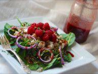 garden gazebo raspberry chicken salad