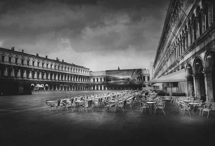 Place san marco by jean michel berts argentic print on aluminium 8 copies 109 x 159
