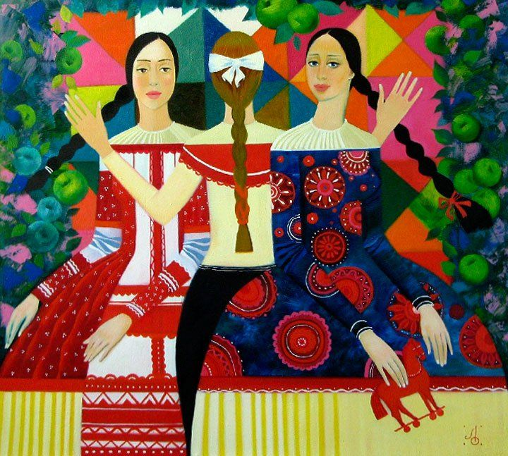 Artodyssey: Olga Larionova - Ларионова Ольга