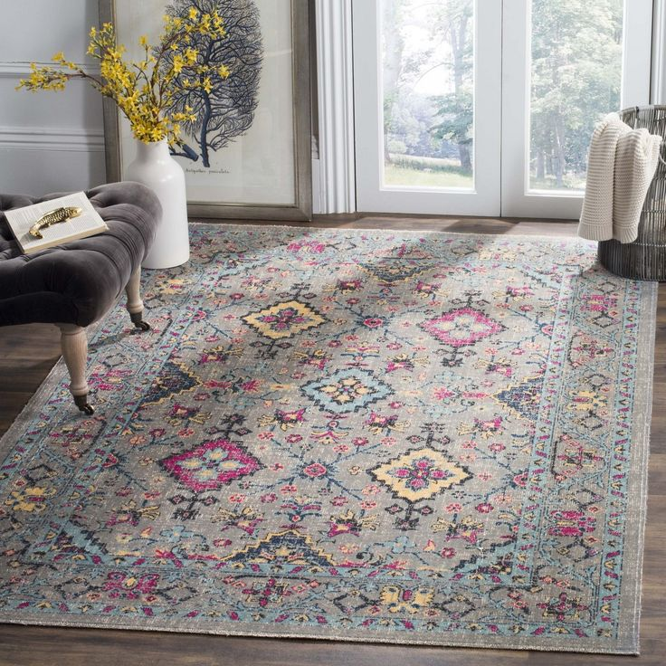 Best Rug Atn513G Artisan Area Rugs By Area Rugs Floral Rug 640 x 480
