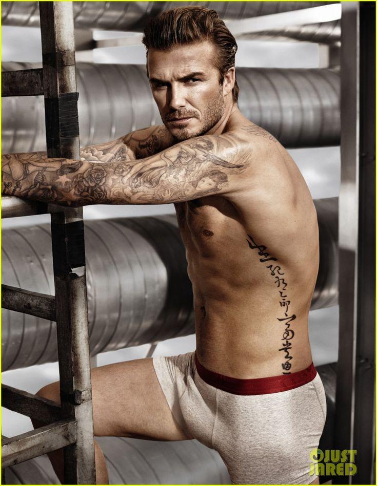 David Beckham: Shirtless in H&M Super Bowl Commercial Clip! | 2014 Super Bowl Commercials, David Beckham, Shirtless Photos | Just Jared