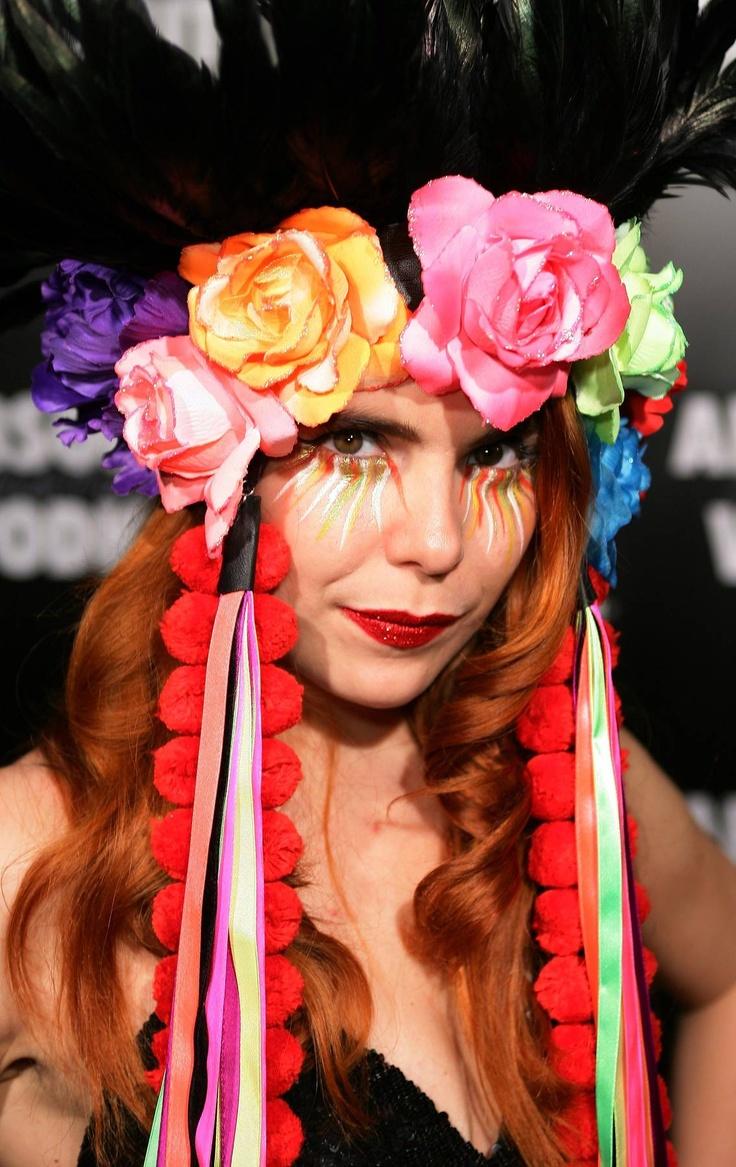 A Fiesta headdress! Paloma Faith Hairdos - The Cut