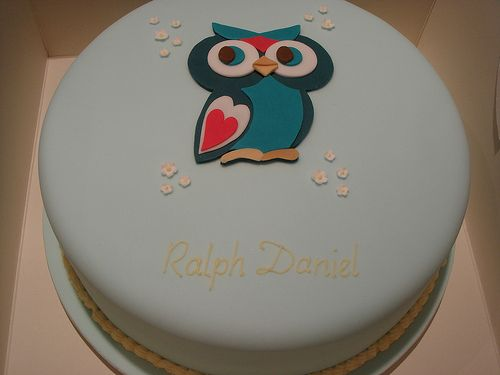 Cute owl cake for any occasion
