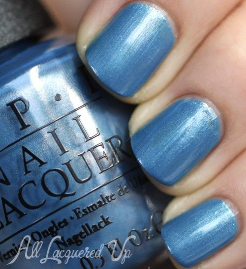 OPI San Francisco for Fall 2013 Blues and Browns Nail Polish Swatches and Review