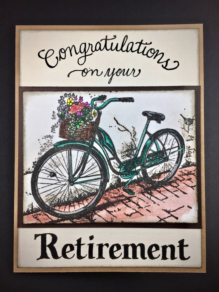 Congratulations on your Retirement Retirement Card