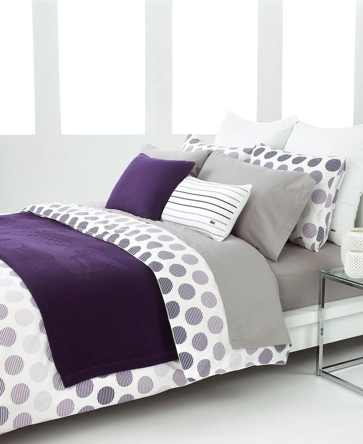 purple and grey bedding master bedroom pinterest. Black Bedroom Furniture Sets. Home Design Ideas