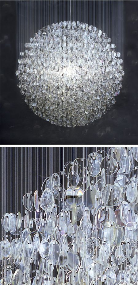 Eyeglass Chandelier
