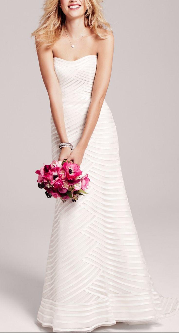 Dreamy silk wedding gown