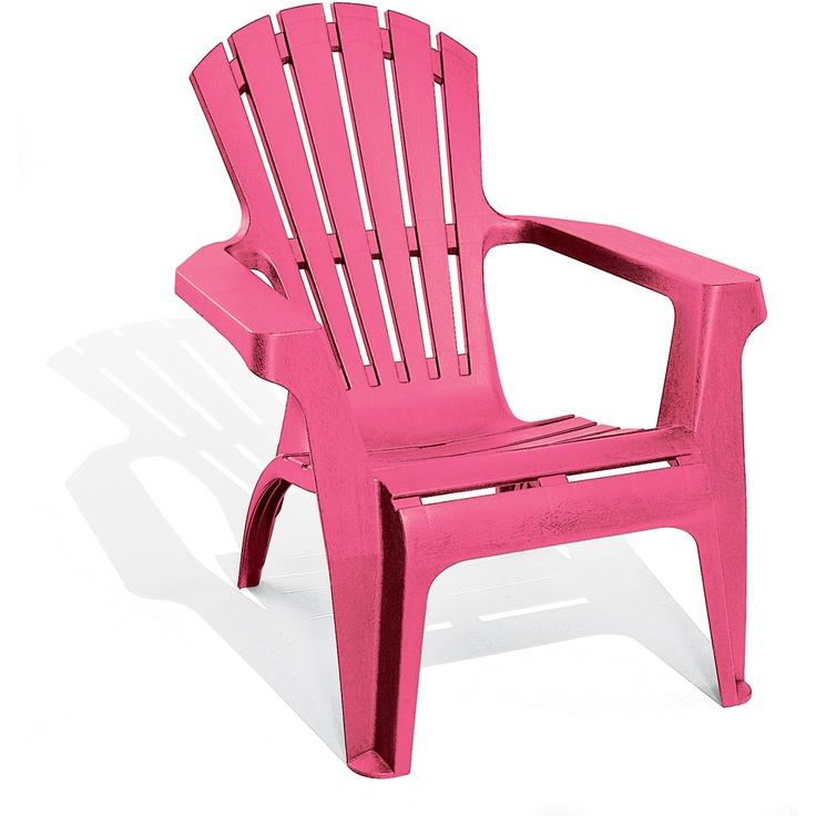 Stoel Bear chair Dolomiti roze