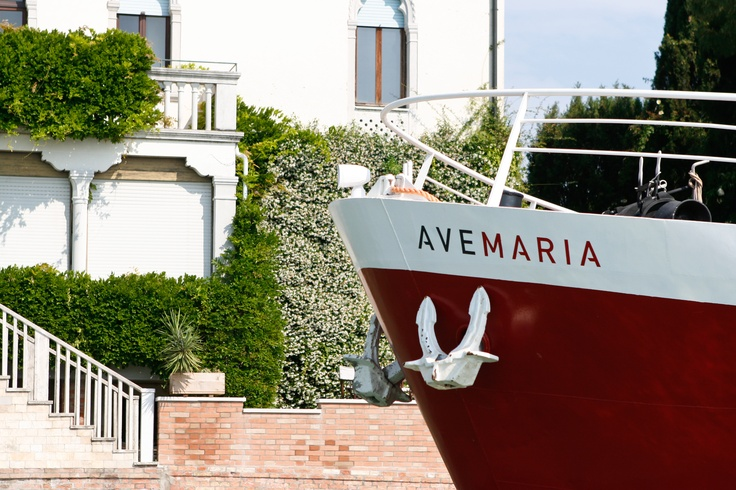 "Girolibero introduces the river #barge Ave Maria, a ""floating hotel"" that denotes uniqueness and exclusivity. #Travel by #barge in #Italy! www.avemariaboat.com"