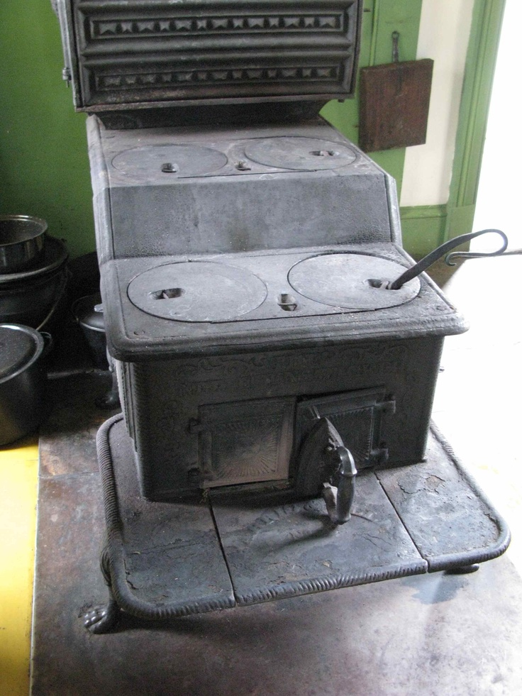 The modern stove of the 1800's. It probably cost around 25 dollars.It comes with 3 ovens for hot, medium and warming. Kings Landing www.kingslanding.nb.ca