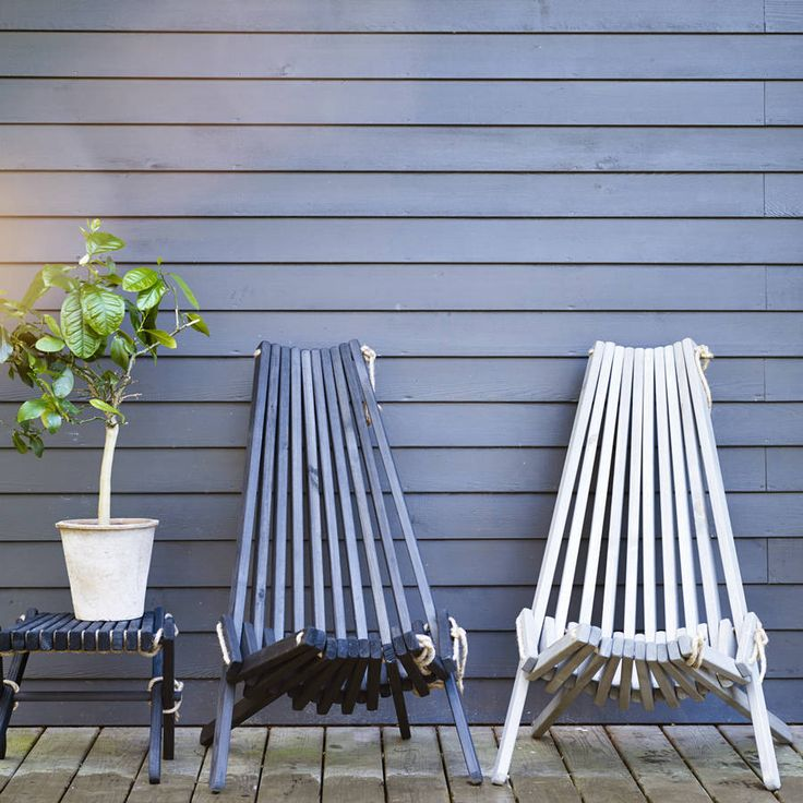 Harmen Outdoor Chair. Made purely from wood and rope, our Harmen chairs and footstools are simple and striking.