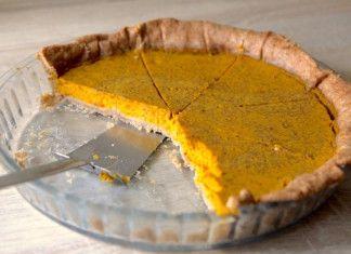 Klasický dýňový koláč http://tomichutna.cz/recept-dynovy-kolac-pumpkin-pie
