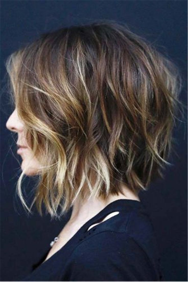 60+ Trendy And Chic Bob Hairstyles For Women In 2019 - Page 60 of 62 - #Bob  #Chic #hairstyles #Page #Trendy… in 2020 | Hair styles, Short curly haircuts,  Medium hair styles