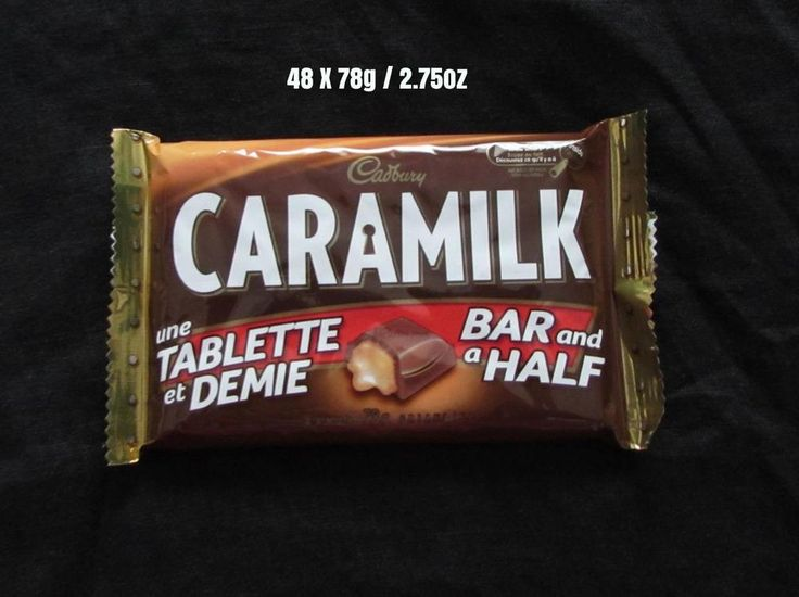 48 x 78g / 2.75 oz Cadbury Caramilk Made in CANADA Free Ship To USA #Cadbury