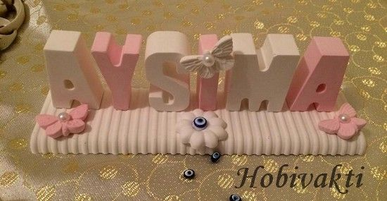 ♥♥ Hobi Vakti ♥♥: Kokulu Taş İsimlikler