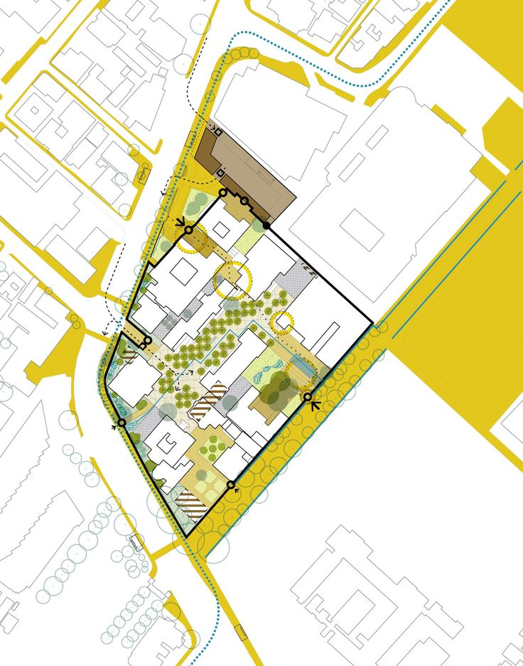 HIDDINGH CAMPUS, Cape Town, South Africa. GAPP prepared the campus plan for the University of Cape Town's historic Hiddingh Campus in the Cape Town CBD. (Prepared by City Think Space, now merged with GAPP)
