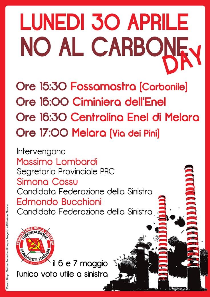 No al Carbone DAY