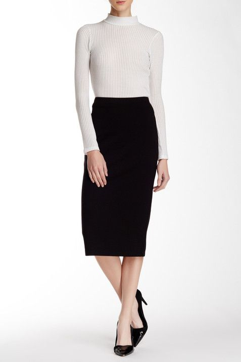 f9623c1ce Classic Ponte Pencil Skirt   style casual   Pinterest   Skirts, Clothes and Nordstrom  rack