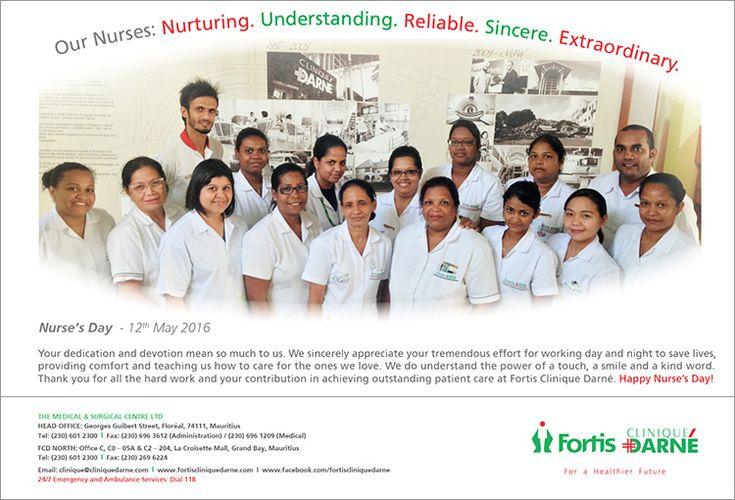 Fortis clinique darn happy nurse s day 2016 tel 601 - Clinique pasteur 07 guilherand granges ...