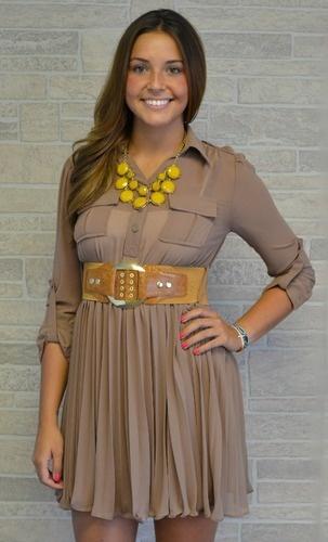 Safari Dress: Safari Dress