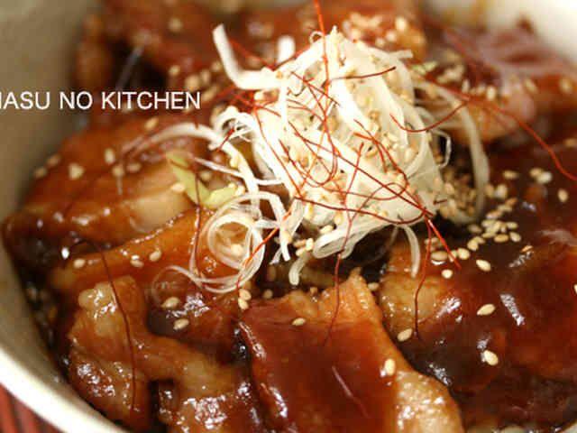【激ウマ!豚バラ丼】の画像