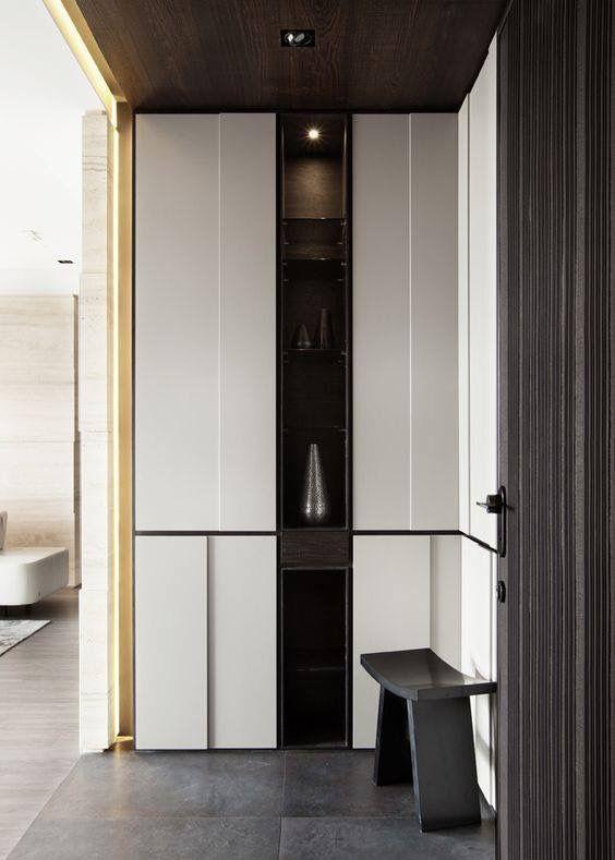 Awesome  Moderne Chinesische Innen Modernes Asiatisches Innenbeleuchtung Design Asiatisches Design Innenraum styling Kleiderschrank Design