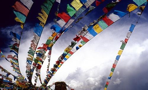 Tibet Flags