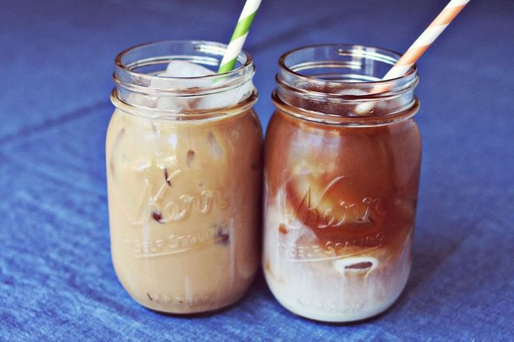 Homemad iced coffee by A Beautiful Mess