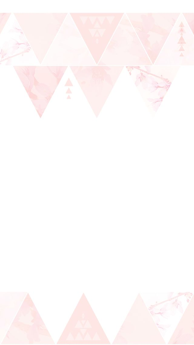 Minimal pink watercolour triangles pattern frame iphone wallpaper background phone lockscreen