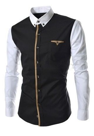 25+ best ideas about Camisa negra hombre on Pinterest | Camisas ...
