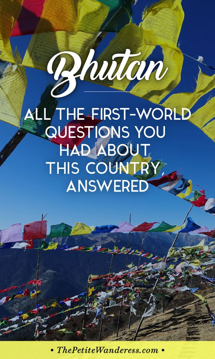 Thinking to visit #Bhutan and not sure if you can adapt? You might get an idea here! via @thepetitewanderess
