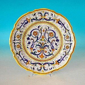 7 best piatti di maiolica ceramica Deruta images on Pinterest ...