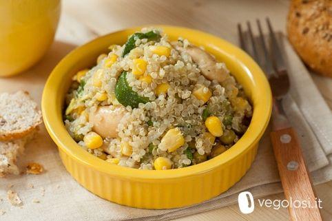 Insalata quinoa e mais