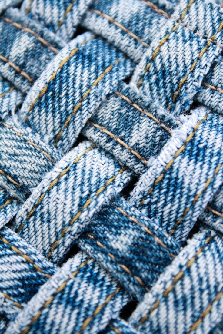 Simple Things Notebook: Making: Woven Jean Seam Coasters