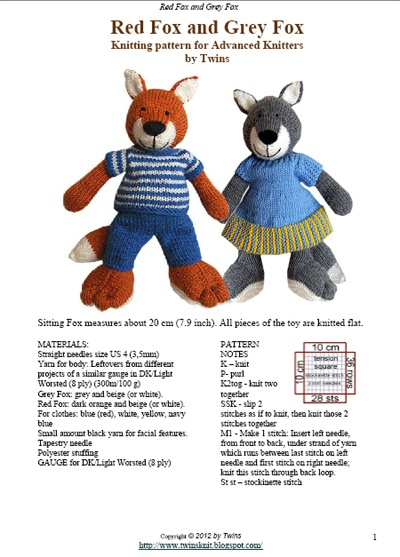 347 best knitted toys and toys made out of socks etc images on ...