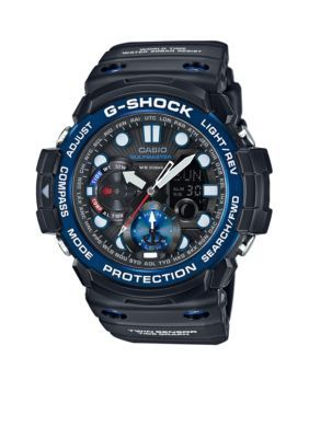 G-Shock  Mens Black Gulfmaster Watch