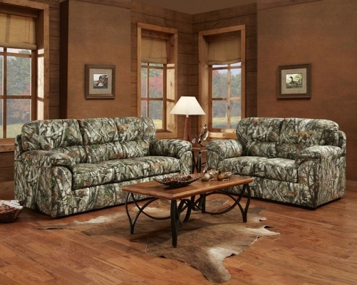 Leather Sleeper Sofa Camo Couch And Loveseat