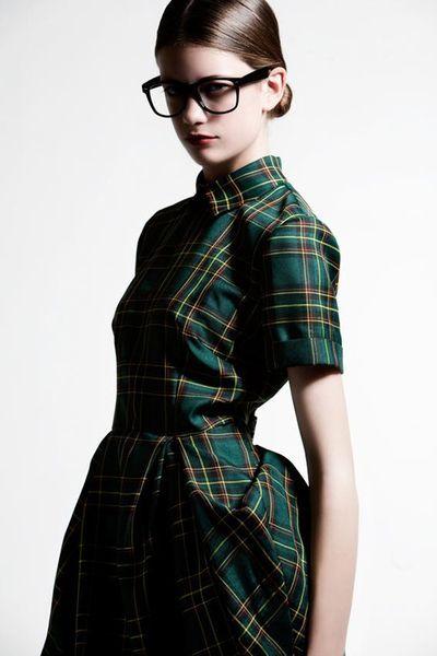 green tartan dress | Sumally